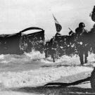 New 5x7 World War II Photo: American 163rd Infantry Invading Wadke Island