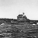 New 5x7 World War II Photo: USS HORNET Launches B-25 on Doolittle Raid