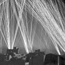 New 5x7 World War II Photo: Anti-Aircraft Fire During an Air Raid on Algiers