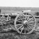 New 5x7 Civil War Photo: 20-Pounder Guns of the 1st New York Battery in Richmond