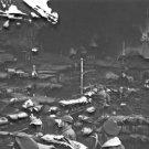 New 5x7 World War II Photo: Marines during Japanese Attack on Dutch Harbor, 1942