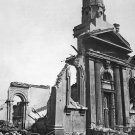 New 5x7 World War II Photo: Wrecked Building after Night Raid in London, 1941