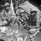 New 5x7 World War II Photo: Navajo Indian Communication Men in Saipan