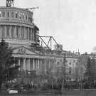 New 5x7 Photo: Capitol & Crowd at First Inauguration of Abraham Lincoln, 1861