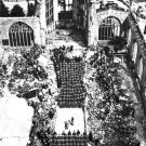 New 5x7 World War II Photo: Wounded Attend Services in Blitzed Cathedral