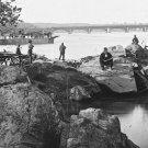 New 5x7 Civil War Photo: Ferryboat & Aqueduct Bridge off Mason's Island