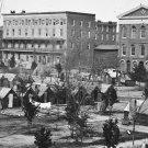 New 5x7 Civil War Photo: Federal Encampment on Decatur Street, Atlanta