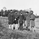New 5x7 Civil War Photo: Officers of the 10th Maine at Cedar Mountain Battle