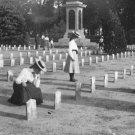 New 5x7 Civil War Photo: Ladies Mourn Confederate Graves in Charleston