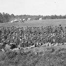 New 5x7 Civil War Photo: Battery M, 2nd U.S. Artillery at Culpeper, Virginia
