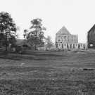 New 5x7 Civil War Photo: Reals Barn Burned after Battle of Antietam - Sharpsburg
