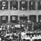 New 5x7 Photo: Republican Rally at the Home of Abraham Lincoln in Springfield