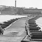 New 5x7 Civil War Photo: Pontoon Bridge in Petersburg, Virginia