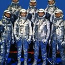 New 5x7 NASA Photo: The Original Mercury Seven Astronauts
