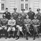 New 5x7 Photo: United States Generals of World War II - Patton, Bradley & others