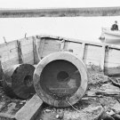 "New 5x7 Civil War Photo: Remains of Fort Sumter Famous ""Floating Battery"", 1863"