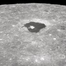 New 5x7 NASA Photo: Lunar Moon Crater Tsiolkovsky from Apollo 8 Mission
