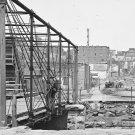 New 5x7 Civil War Photo: Ruins of Richmond and Danville Railroad Depot