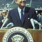 New 5x7 Photo: President John F. Kennedy Gives Speech at Rice University, 1962