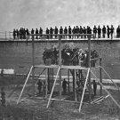 New 5x7 Photo: Death Warrant Read to the Abraham Lincoln Conspirators