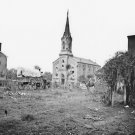 New 5x7 Civil War Photo: Church at or near Warrenton, Virginia