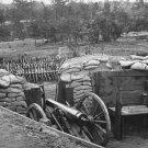 New 5x7 Civil War Photo: Confederate Fort & Supplies in Atlanta, 1864