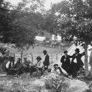 New 5x7 Civil War Photo: Camp of Federal Captain John Hoff at Gettysburg, 1865