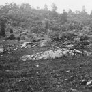 New 5x7 Civil War Photo: Little Round Top & Plum Run Creek, Battle of Gettysburg