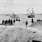 New 5x7 Civil War Photo: Federal Navy Squadron at Charleston, South Carolina