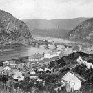 New 5x7 Civil War Photo: Shenandoah & Potomac Rivers at Harper's Ferry