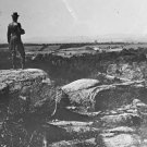 New 5x7 Civil War Photo: General G.K. Warren Monument on Gettysburg Battlefield