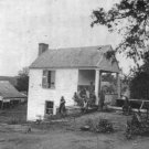 New 5x7 Civil War Photo: Houses at Marye's Heights in Fredericksburg