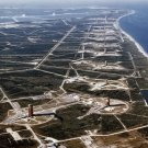 New 5x7 Photo: Aerial View of Missile Row at Cape Canaveral Air Force Station