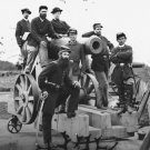 New 5x7 Civil War Photo: Officers of 3rd Massachusetts Artillery, Fort Totten
