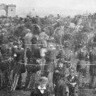 New 5x7 Civil War Photo: Crowd & Gate at Gettysburg Address Cemetery Dedication