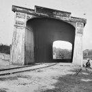 New 5x7 Civil War Photo: Ruins of the Richmond & Danville Railroad Bridge, 1865