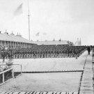 New 5x7 Civil War Photo: Infantry on Parade at Camp William Penn, Pennsylvania