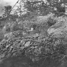 New 5x7 Civil War Photo: Federal Breastworks on Hill after Gettysburg Battle