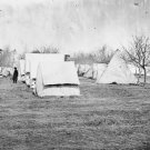 New 5x7 Civil War Photo: Balloon Camp in the Vicinity of Falmouth, Virginia