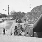 New 5x7 Civil War Photo: Gun on the Point Battery in Charleston, South Carolina