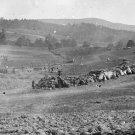 New 5x7 Civil War Photo: Hospital of Staw Huts at Antietam - Sharpsburg