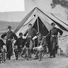 New 5x7 Civil War Photo: 17th New York Battery Near Gettysburg, 1863