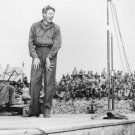 New 5x7 World War II Photo: Danny Kaye Entertains Troops of 5th Marine Division