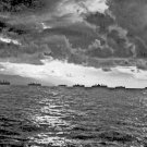 New 5x7 World War II Photo: Liberators Move along the Coast of Leyte Island
