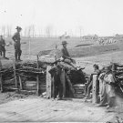 New 5x7 Civil War Photo: Federal Soldiers in Confederate Fort at Manassas, VA