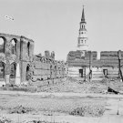 New 5x7 Civil War Photo: Ruins of Secession Hall in Charleston, S. Carolina