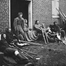 New 5x7 Civil War Photo: Soldiers Wounded after the Battle of Fredericksburg