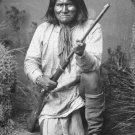 New 5x7 Photo: Geronimo in 1887, Leader of the Bedonkohe Apache