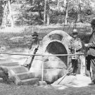 New 5x7 Civil War Photo: Spangler's Spring on the Gettysburg Battlefield, 1903