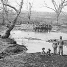 New 5x7 Civil War Photo: Federal Cavalry at Sudley Ford at Bull Run, Manassas